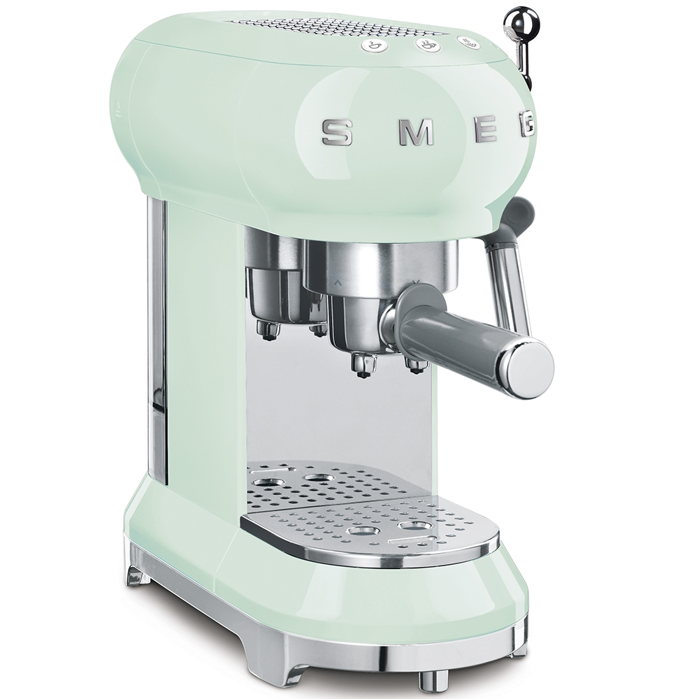 Smeg ECF01PGUK  Espresso Machine Coffee Machine-Pastel Green