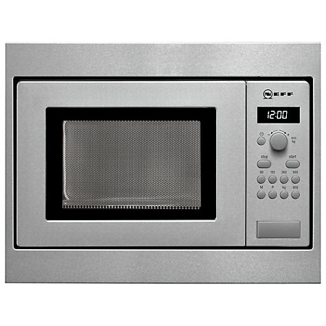 Neff H53W50N3GB Stainless Steel Microwave