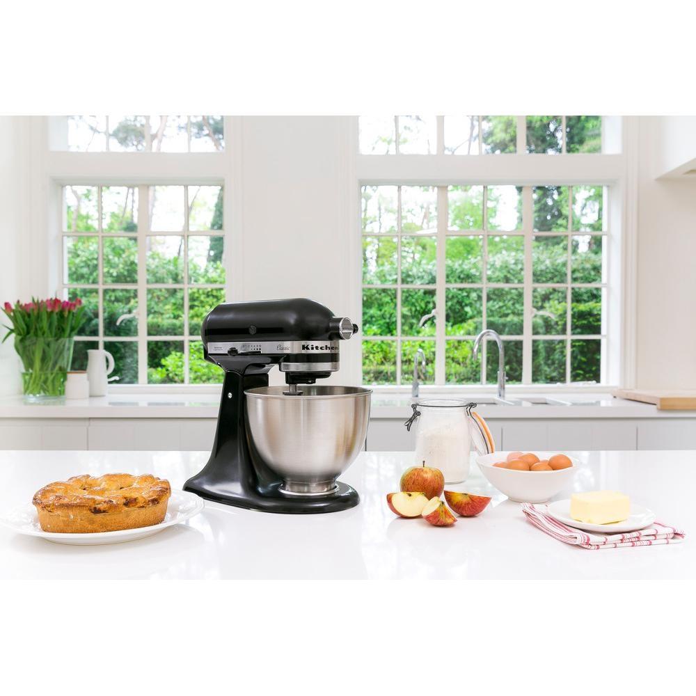 Kitchenaid 5K45SSBOB Mixer Black 4.3L Classic Stand Mixer