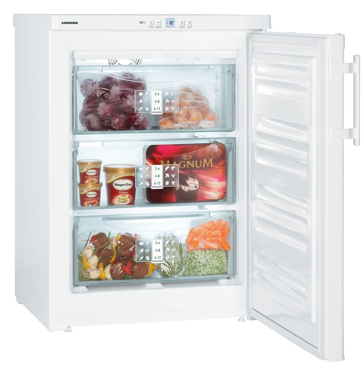 Liebherr GNP1066 Premium NoFrost Table-Height Freezer-White