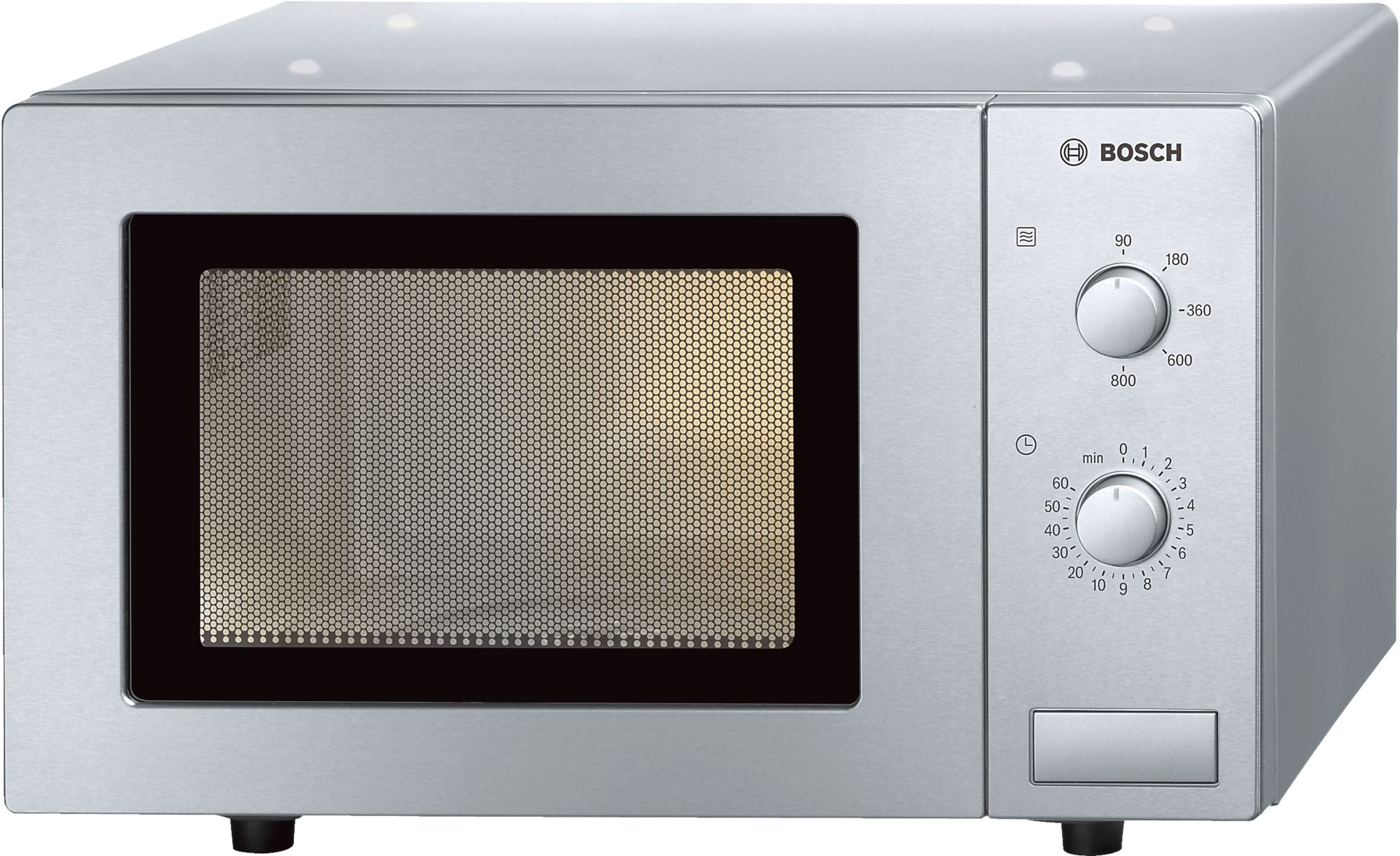 Bosch HMT72M450B Microwave Oven, Brushed Steel