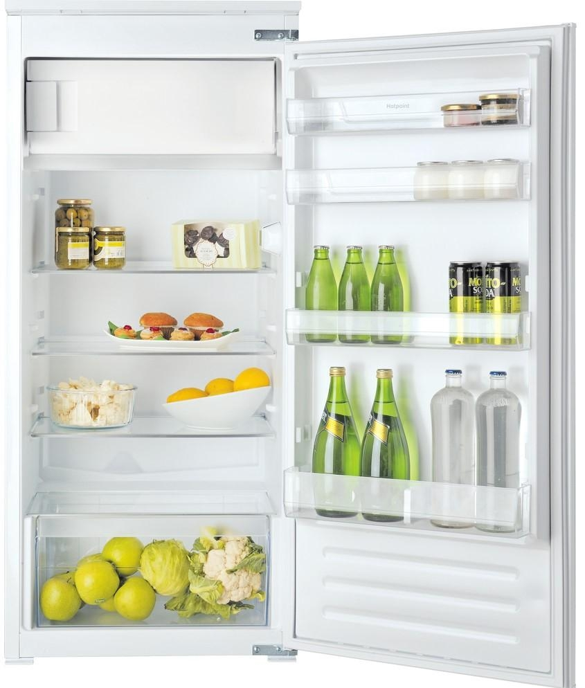Hotpoint HSZ12A2D1 Integrated Fridge with Ice Box-White