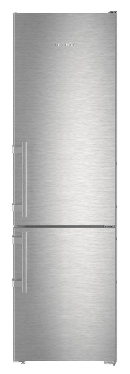 Liebherr CNef4015 Comfort NoFrost Fridge Freezer-Silver