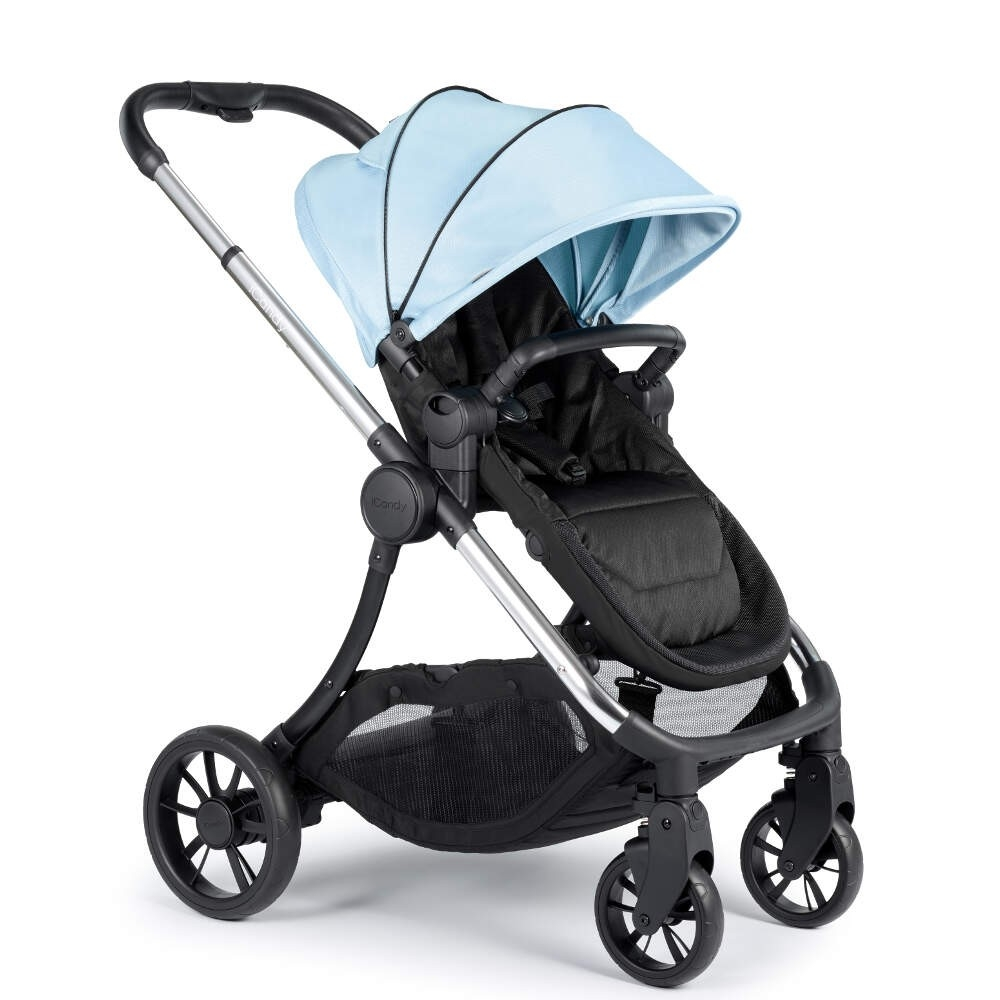 iCandy IC2025 Lime Pushchair & Carrycot-Glacier