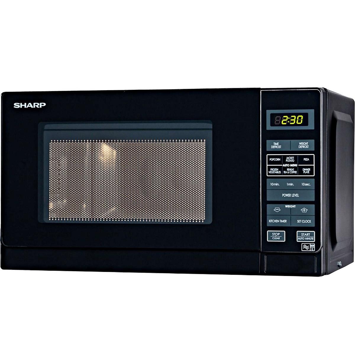 Sharp R272KM 20-Litre 800-Watt Microwave - Black