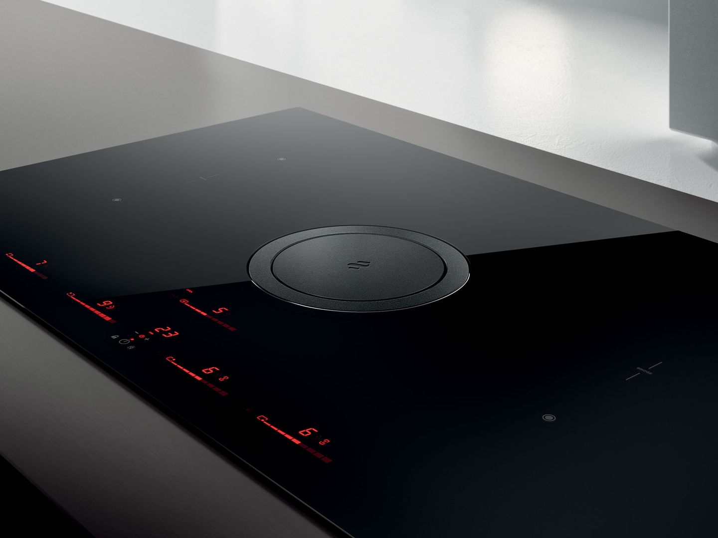 Elica NIKOSWITCHDUCTBL Nikolatesla Switch Induction Hob-Black-Duct Out
