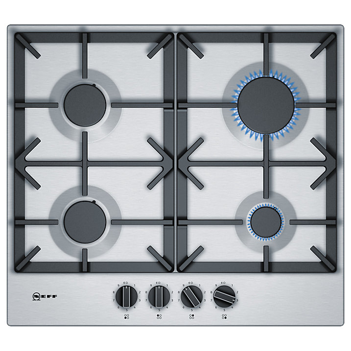Neff T26DS49N0 Gas Hob Stainless Steel
