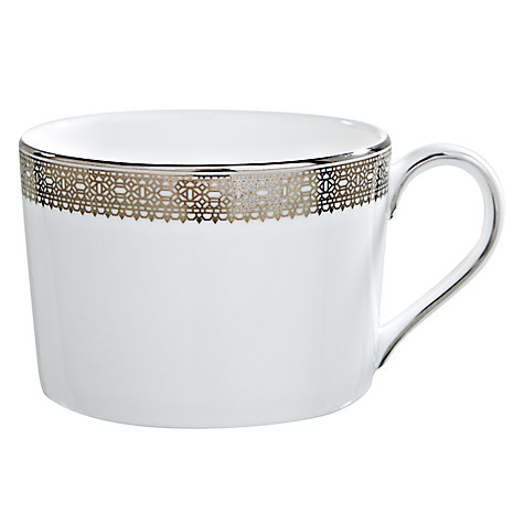 Vera Wang Lace Platinum Tea Cup