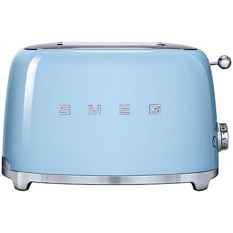 Smeg TSF01PBUK 50's Retro 2 Slice Toaster - Pastel Blue