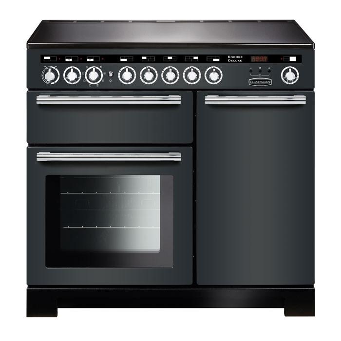 Rangemaster EDL100EISL/C Encore Deluxe 100 Induction Range Cooker Slate