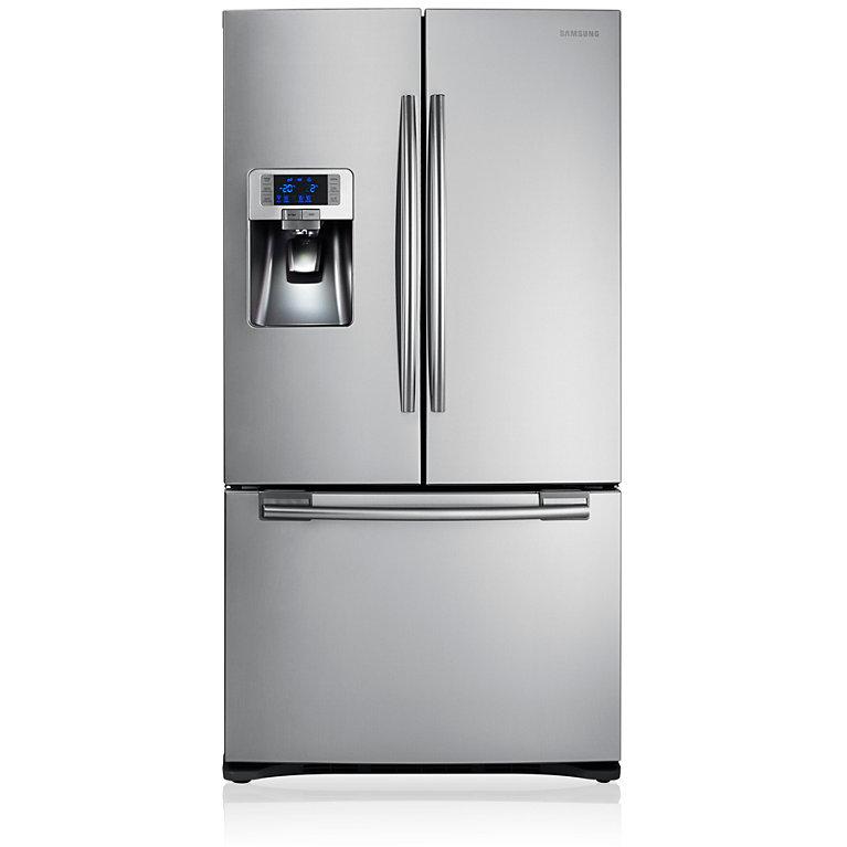 Samsung RFG23UERS G Series American Fridge Freezer - Silver
