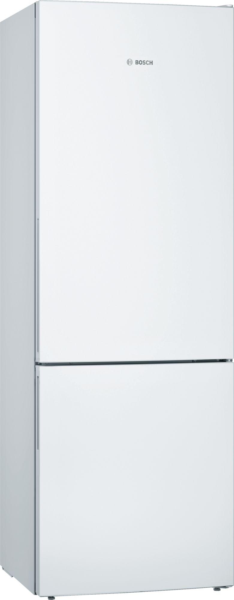 Bosch KGE49VW4AG Low Frost 60/40 Freestanding Fridge Freezer White